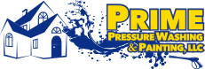 prime pressure washing and painting logo